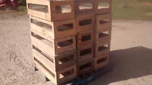 Wooden Chicken Transport Boxes Kitchener / Waterloo Kitchener Area image 1