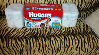 Huggies Snug and Dry, size 6, new box and two new packs