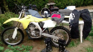 2007 rmz 4 speed low hours new oil and coolant