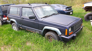 2dr cherokee for parts
