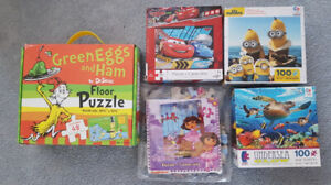 Tots Puzzles and Books