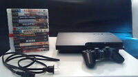 Playstation 3 160 go - 13 games/jeux - 2 controllers/manettes