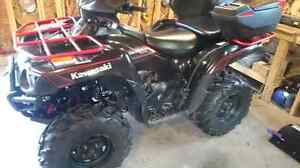 2009 brute force 650i - only 1895 kms