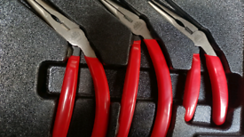 Mac Tools, 3pc pistol grip plier set