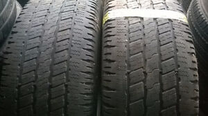 Three pairs of R20 all season and winter tires