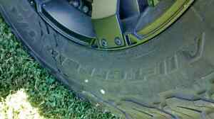 Rims  with almost new tires for sale 285/70/17 and lift kit Stratford Kitchener Area image 4