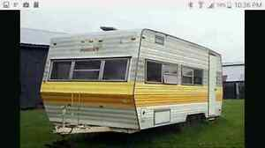 I want a camper for trade
