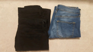 Topshop Leigh jeans 26x30, 3 for $50!