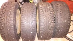 205-65-R15 studded winter tires