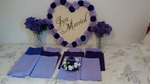 SOLD PPU - Wedding decorations - Fredericton or Woodstock