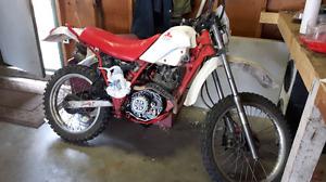 Yamaha dirt bike for  parts