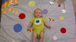 Ikea play mat for baby who starts to crawl