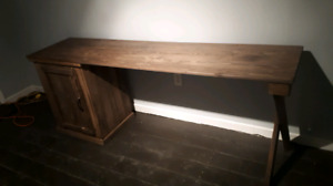 Rustic Desk Newly Built