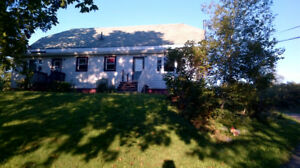 2 Bedroom Duplex on Large Country Lot!