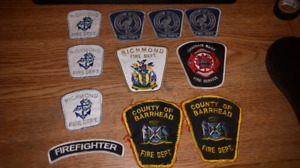 11 Police Fire Ems Patches take all $20 or $5 each