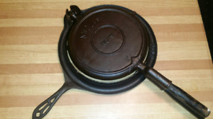 McClary #9 Cast Iron Waffle Maker Made in Canada