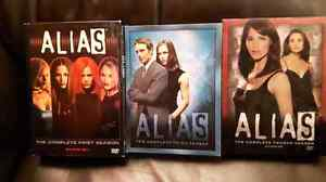 ALIAS DVD SEASON 1, 3 & 4 TV series for television