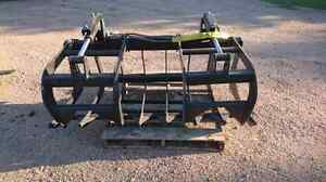 New Unused Skid Steer Root, Brush & Log Grapple