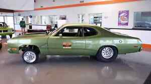 1972 PLYMOUTH DUSTER PRO STREET ROLLING CHASSIS MINT COND $16900