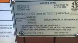 Hot Tub 4 person for sale