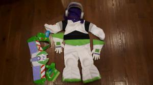 Halloween boy disney buzz lightyear costume size 2/3T