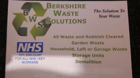 BERKSHIRE WASTE SOLUTIONS RUBBISH CLEARANCE SERVICE ASCOT BRACKNELL