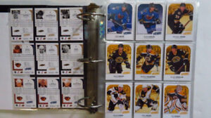 Cartes d'hockey