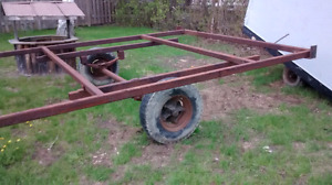 Office trailer chassis.16x10