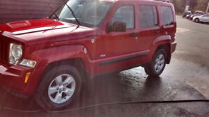 2008 JEEP LIBERTY  TRAIL RATED ED.  RARE 6SPD