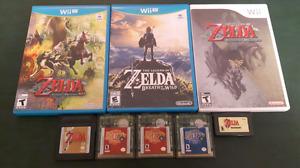 Legend of Zelda games - Wii U / Wii / Gameboy / GBC / GBA