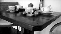 Custom Rustic Dining Tables by Ruztikcharms
