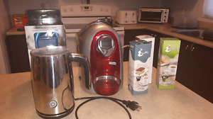 Caffitaly Expresso Cappuccino Machine Kit & Frother