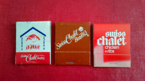 Matchbook Covers-Swiss Chalet Bar-B-Q Kitchener / Waterloo Kitchener Area image 1