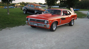1971 Nova SS BB Chevrolet Car