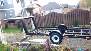 5th Wheel Flatbed - (Professionally Re-done)
