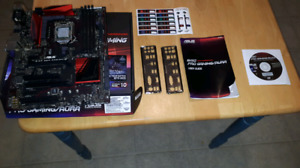 ASUS B150 PRO GAMING/AURA + Processor