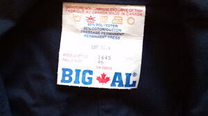 NEW Big Al Poly Cotton Coverall Jumpsuit workwear size XL West Island Greater Montréal image 5