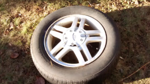 2001 ford focus wagon tires and rims