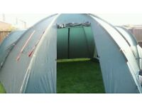 EUROHIKE WELLAND TWO BEDROOM DOME TENT
