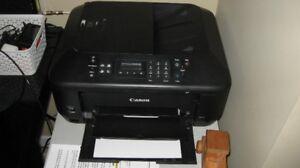 Canon Pixma MX530 Printer - prints/scans/copies/fax
