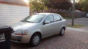 2005 Chevrolet Aveo LT Sedan