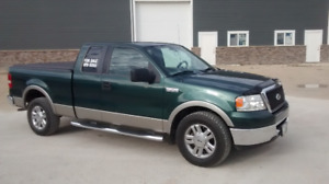 2007 Ford F-150 ext cab green Pickup Truck