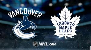 Toronto Maple Leafs Tickets. Toronto vs Vancouver