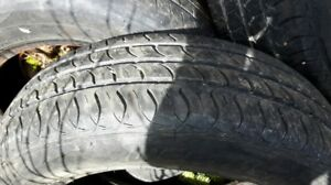 5 Tires off of a 2008 Hyundai Accent all for $150.00