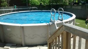 "21"" Zodiac Pool and supplies"