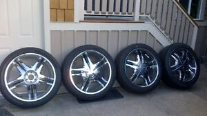 """26"""" Rims and Tires"""