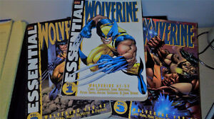 Essential Wolverine Collection book 1,2 and 3