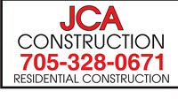 JCA Construction - Residential construction