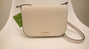 Brand New Authentic Kate Spade Crossbody Purse in Beige