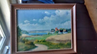 E Birk Original Painting. Registered Danish Artist
